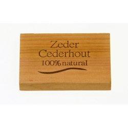 Cederhout Lade (12 x 4 stuks)