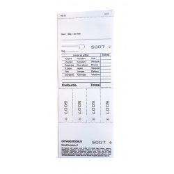 Hydrofix bonboekje, model NL 10 - wit