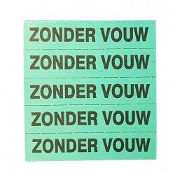 Hydrofix merkband, standaard bedrukt  ZONDER VOUW